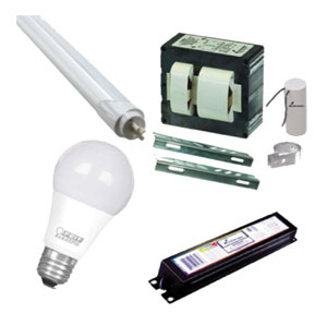Lamps, Bulbs, Ballast