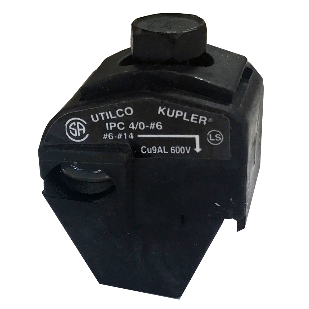 ILSCO KUPLER 4//0-1//0 Cu9AL Size #6-1//0  Insulation Piercing Connector